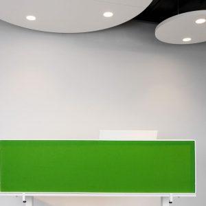 Sound StringScreen - Sound ceiling circle
